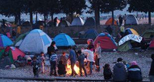 Camp informel Idomeni Grèce