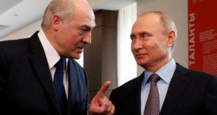 Les présidents russe et biélorusse