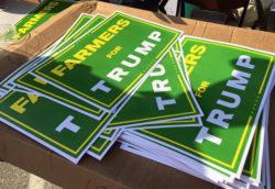 Les farmers, fidèles soutiens du candidat Trump ?