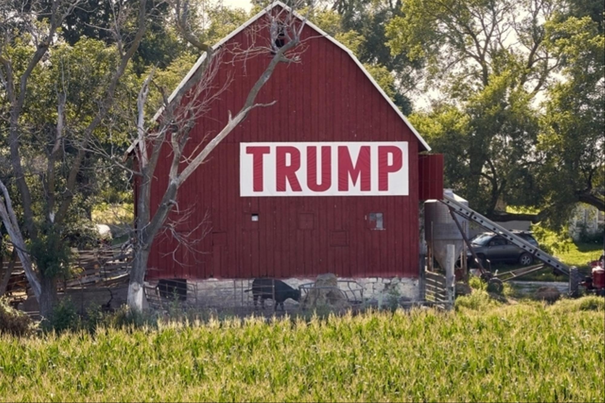 Les agriculteurs, soutiens fidèles de Donald Trump ?