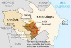 Le conflit au Haut-Karabagh : exemple de reflux dans l'espace post-soviétique