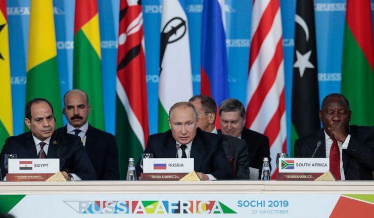 Sommet de Sotchi en octobre 2019