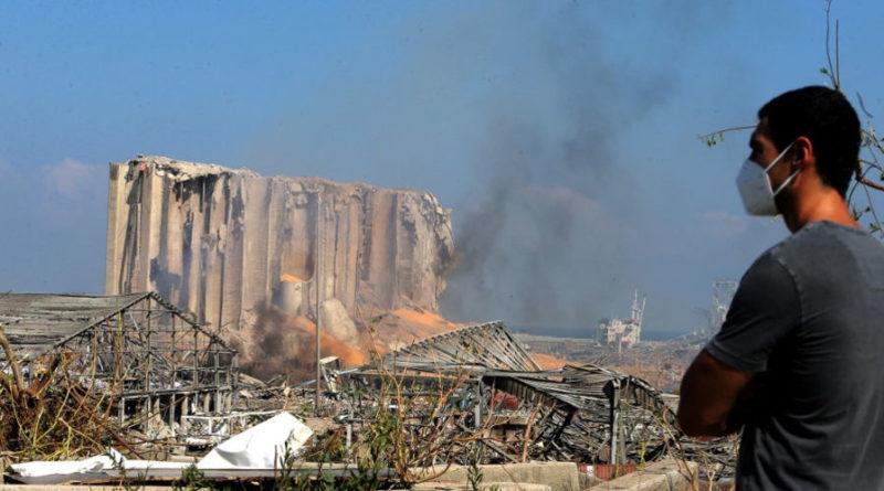 Une double explosion a ravagé le port de Beyrouth le 4 août.