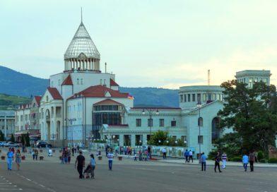 Stepanakert, capitale du Haut-Karabagh