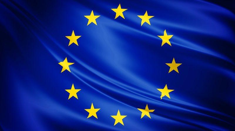Drapeau de l'UE, Europe de la santé, coronavirus, UE
