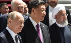 Rohani était en déplacement à Bichkek pour normaliser ses relations en Asie Centrale et sortir de son isolement diplomatique