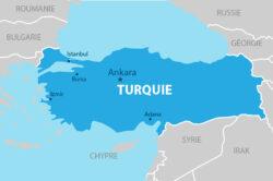 Situer géographiquement la zone stratégique de la Turquie en Méditerranée