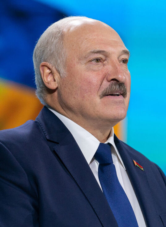 Le dirigeant biélorusse Alexandre Loukachenko