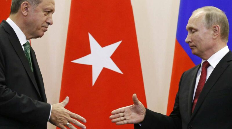 Erdogan tourne le dos à l'Occident pour se tourner vers la Russie