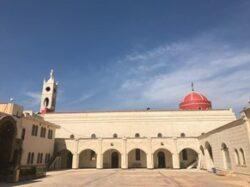 cathédrale al-Tahira de Qaraqosh rénovée par les chrétiens d'Irak avant la venue du pape