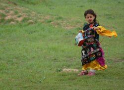 Jeune fille irakienne