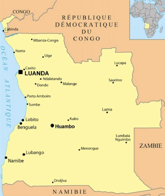 Angola guerre