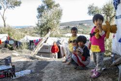 pacte asile et migration camp de réfugiés, Moria