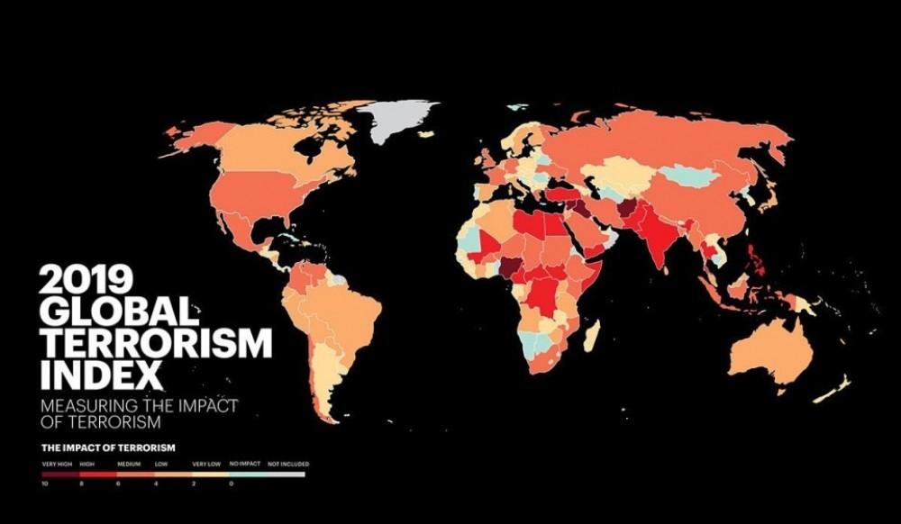 Monde terroriste 2019