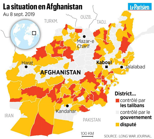 Intervention américaine Afghanistan